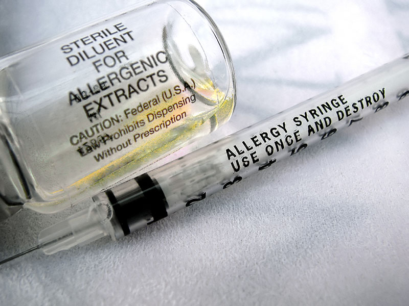 Allergy shots immunotherapy